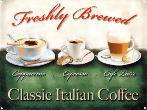classic coffee menu