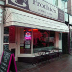 Outside view of Frothies