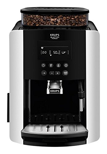 Krups Arabica Digital, Bean to Cup, Coffee Machine, Silver, Automatic
