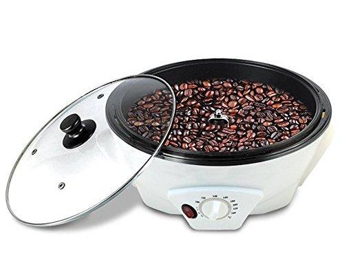 Vogvigo Coffee Roaster Home Coffee Beans Roasting Machine,Household Stainless Steel Electric Drum Type Rotation Coffee Roaster – 220V/ 1200W