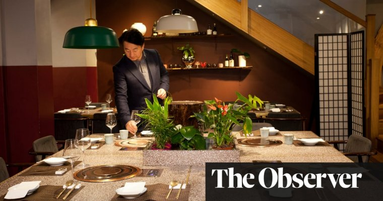 Olle, London: 'The diners are the window display'