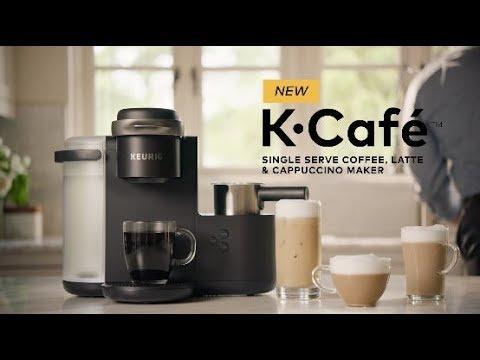 NEW Keurig® K-Cafe™ Coffee, Latte & Cappuccino Maker