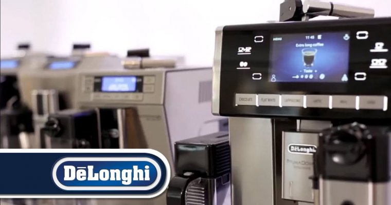 De'Longhi fully automatic coffee machine range overview