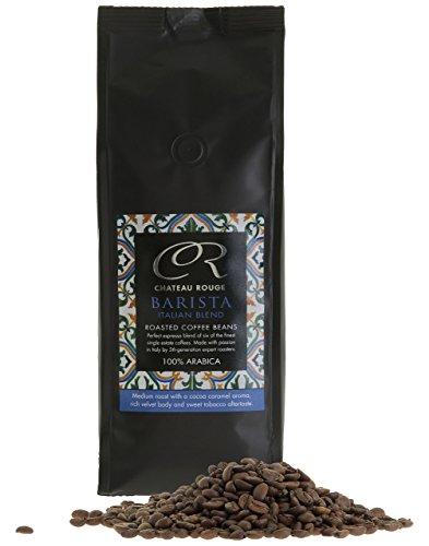 Espresso Coffee Beans – Barista, Italian Blend – 100% Arabica Fresh Coffee Beans for Grinders, 500g