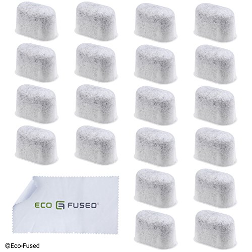 Charcoal Water Filter Replacements – Fits Keurig 2.0 Models – 20 Pack – Extra Fine Grain – Fine Mesh Material – Long Lasting – High Quality – for Improved Coffee Taste – Easy to Replace (20 Pack)