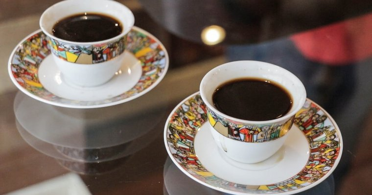 Watch how to make Ethiopian coffee
