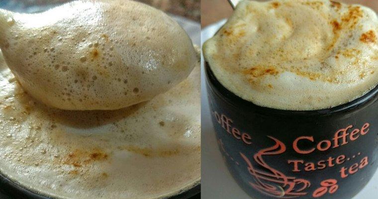 HOT COFFEE RECIPE-बिना मशीन के झाग वाली कॉफ़ी बनाने का आसान तरीका-Coffee-Make Perfect Coffee at Home