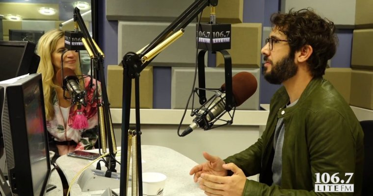 Josh Groban Reveals Where To Get The Best Coffee In The World