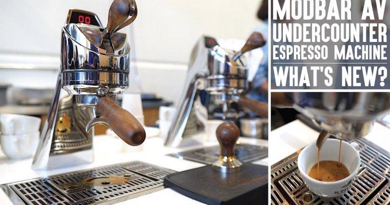 New Modbar AV Espresso Machine | Modbar + La Marzocco = Fresh New Features | Real Chris Baca