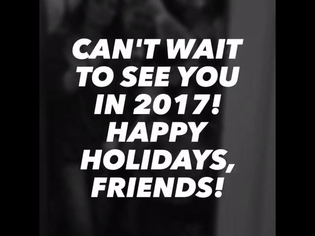 See ya later, 2016