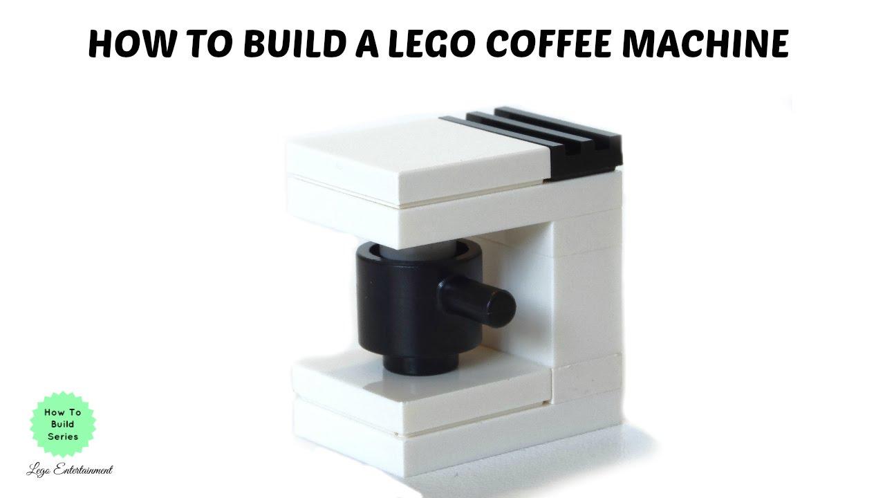 How to Build a Lego Coffee Machine Tutorial