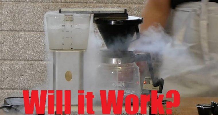 What Happens If You Put Liquid Nitrogen In Coffee Maker?