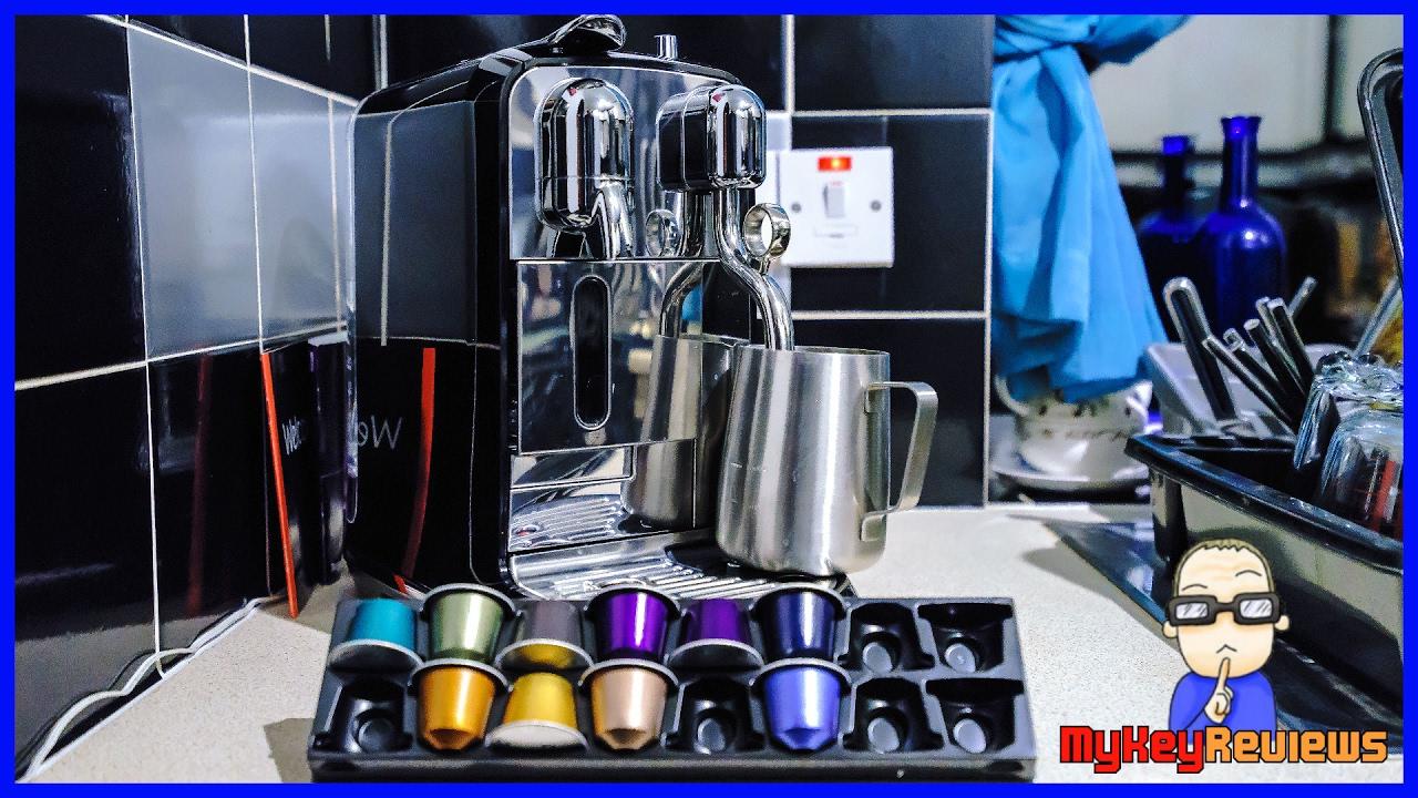 Sage: Nespresso Creatista Capsule/Pod Coffee Machine | Review | MyKeyReviews