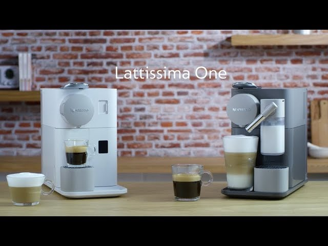Nespresso Lattissima One – Machine presentation