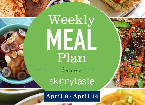 Skinnytaste Meal Plan (April 8-April 14)