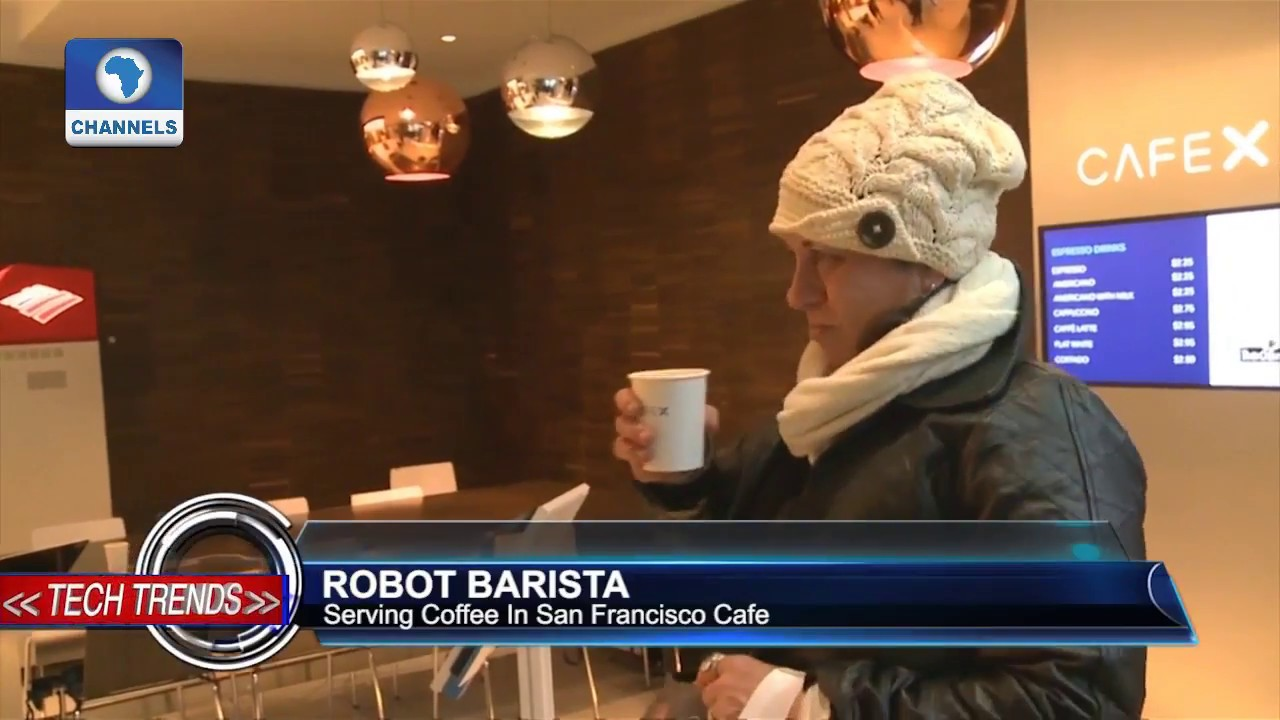 Tech Trends: Robot Barista Serving Coffee In San Francisco Cafe