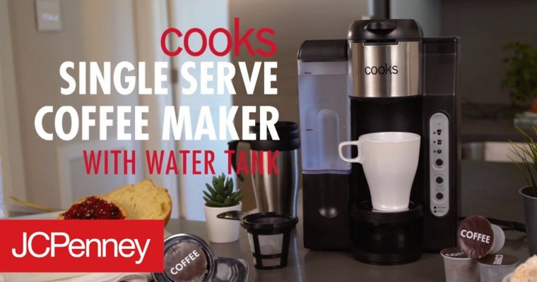 Cooks Single Serve Coffee Maker: K Cup Coffee Machine | JCPenney