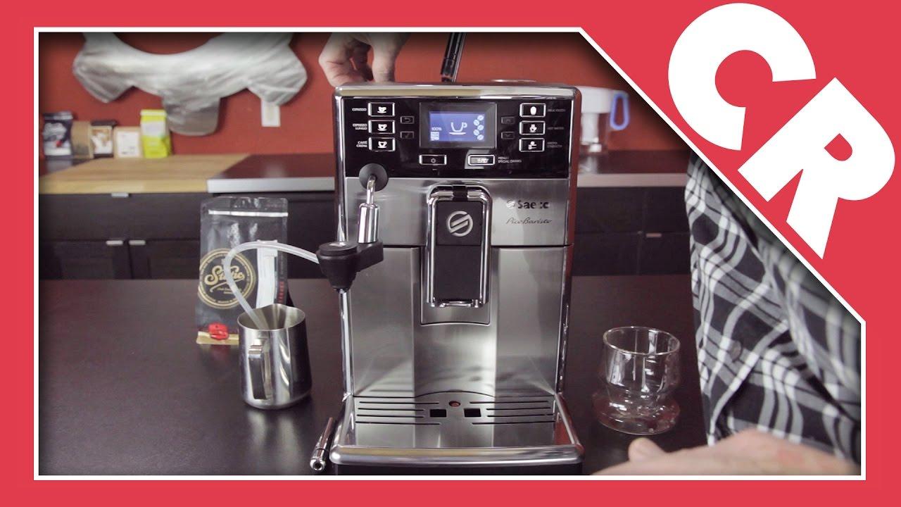 Saeco Pico Baristo Superautomatic Espresso Machine | Crew Review