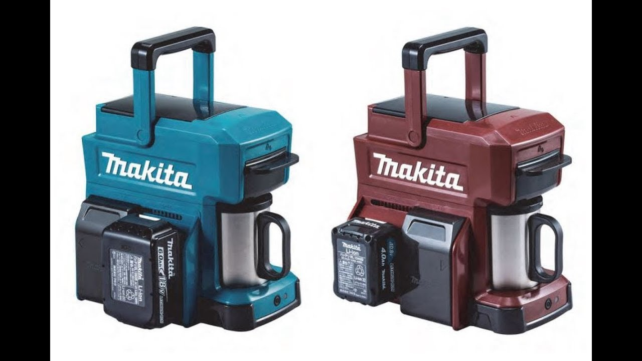 BREAKING NEWS !!! Makita Portable Rugged Battery Coffee Machine