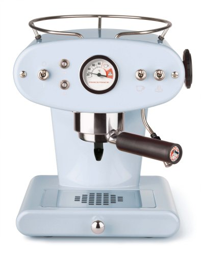 Francis F000875c Francis for Illy X1 Ground Coffee Machine, Light Blue