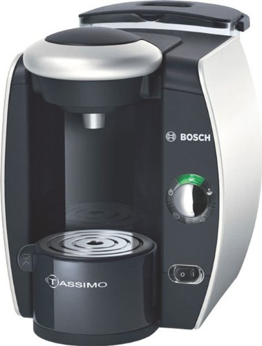 Bosch T40 TAS4011GB Coffee Maker, Silver