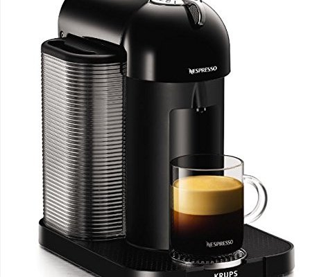 Nespresso Vertuo, Black finish by Krups