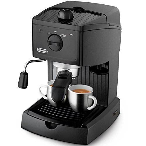 De'Longhi EC146.B Traditional Pump Espresso Machine – Black