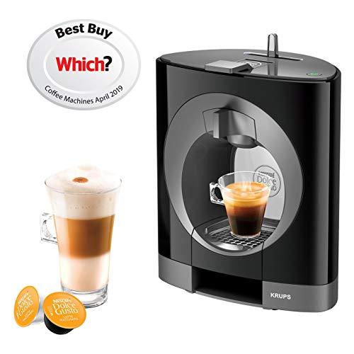 NESCAFE Dolce Gusto Oblo Coffee Machine by Krups – Black