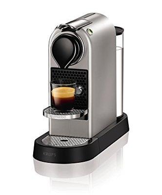 Nespresso XN740B40 Citiz Coffee Machine, 1710 W, Silver by Krups