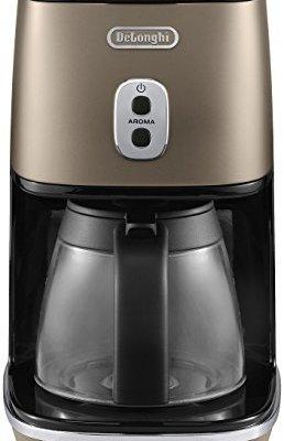 De'Longhi ICIMI211BZ Coffee Maker, 18/8 Stainless Steel, 1000 W, 1.25 Fluid_Ounces