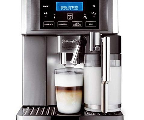 De'Longhi Prima Donna Avant ESAM6700 15 Bar Bean to Cup Espresso and Cappuccino Machine – Stainless Steel