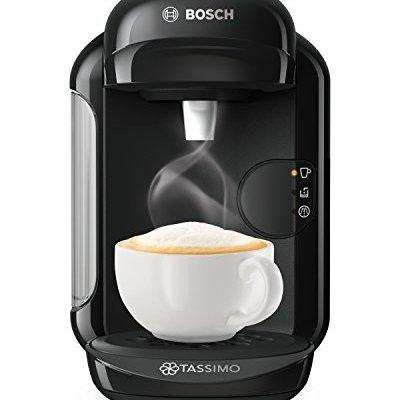 Bosch Tassimo Vivy 2 TAS1402GB Coffee Machine, 1300 Watt, 0.7 Litre – Black