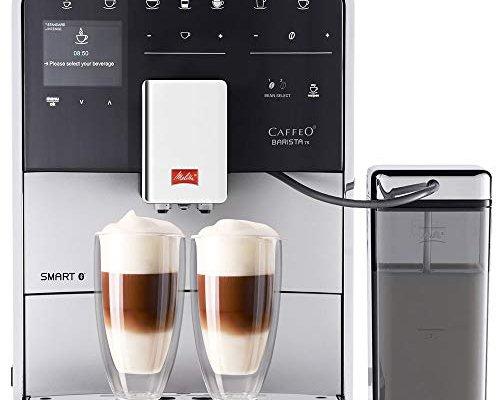 Melitta F85/0-101 Barista TS Smart Coffee Machine, 1450 W, 1.8 liters, Silver