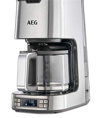 AEG 7 Series Digital Filter Coffee Machine, 1100 W – Stainless Steel