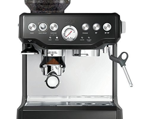 Sage SES875BKS The Barista Express Machine, Black Sesame