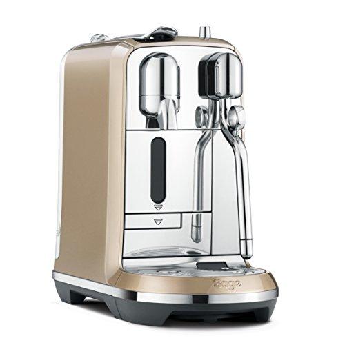 Nespresso Creatista Coffee Machine, Champagne by Sage