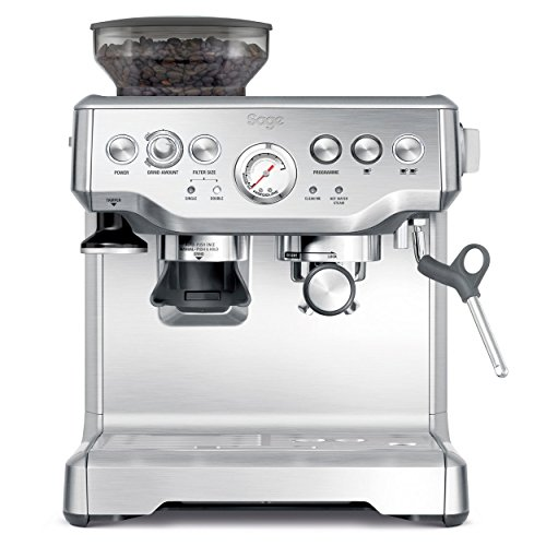 Sage BES870UK the Barista Express Espresso Machine – Silver