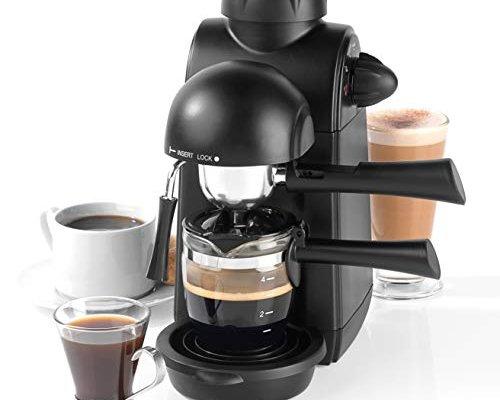 Salter EK3131 Espressimo Barista Style Coffee Machine, Black
