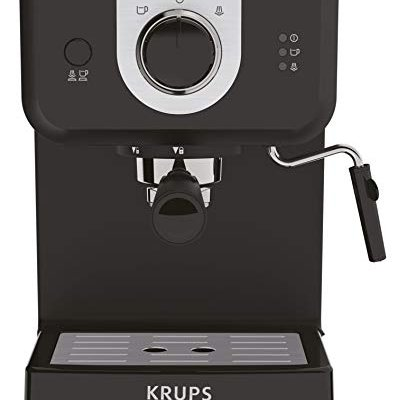 Krups XP320840 Opio Steam and Pump Coffee Machine, Black