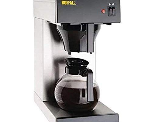 Buffalo Coffee Machine 465X205X385mm Espresso Drinks Maker Restaurant,Silver
