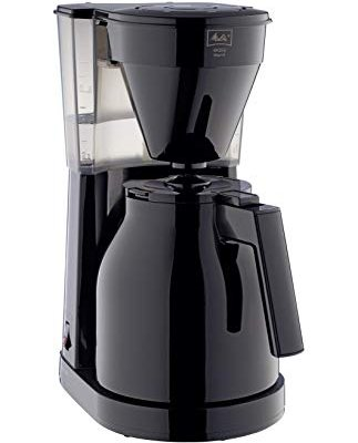 Melitta Filter Coffee Machine with Insulated Jug, Easy Therm II Model, 1023-06, Black, 6762891