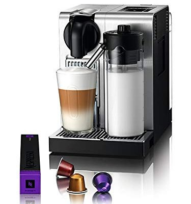 De'Longhi Lattissima Pro, Single Serve Capsule Coffee Machine, Automatic frothed milk, Cappuccino and Latte, EN750.MB, Metal & Black