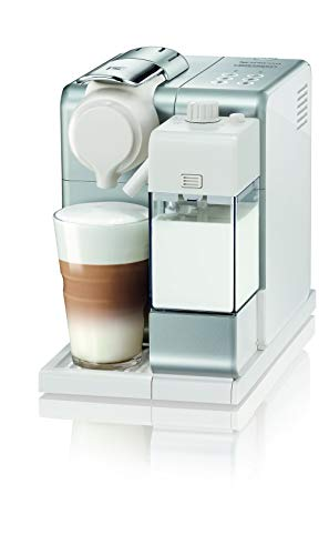 De'Longhi Lattissima Touch, Single Serve Capsule Coffee Machine, Automatic frothed milk, Cappuccino and Latte, EN560.S, Silver
