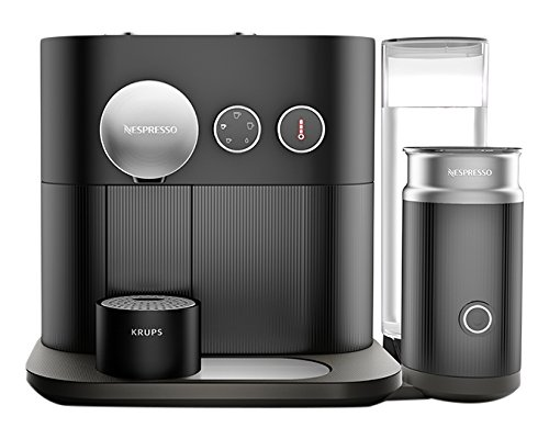 Nespresso Expert Coffee and Milk Machine, Black by Krups