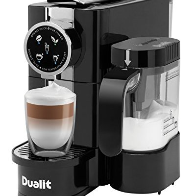 Dualit 85180 Cafe Cino Coffee Machine – Black Finish