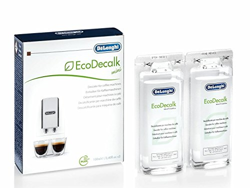 Delonghi EcoDecalk Mini 2 x 100ml Descaler (Pack of 1)-White