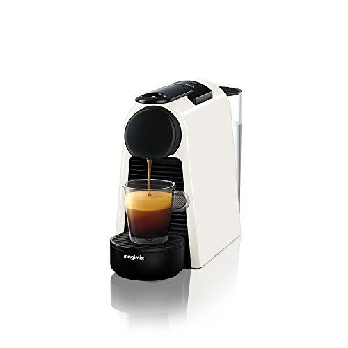 Nespresso Essenza Mini Coffee Machine, Pure White Finish by Magimix