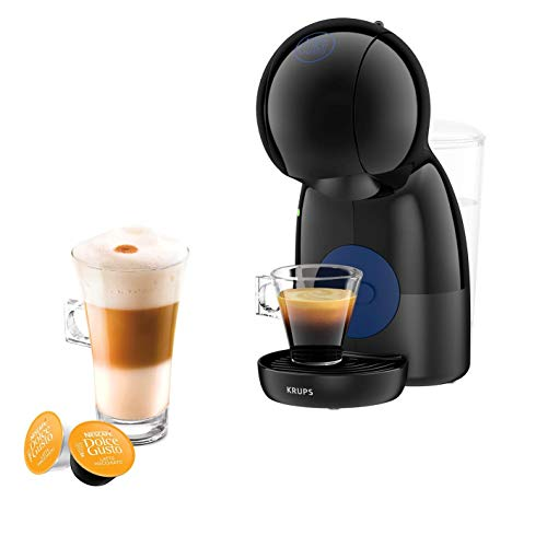 Nescafé Dolce Gusto Piccolo XS Manual Coffee Machine, Espresso, Cappuccino & More, Black by KRUPS