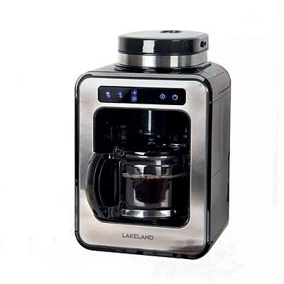 Lakeland Bean to Cup Coffee Machine Black with Keep Warm Function