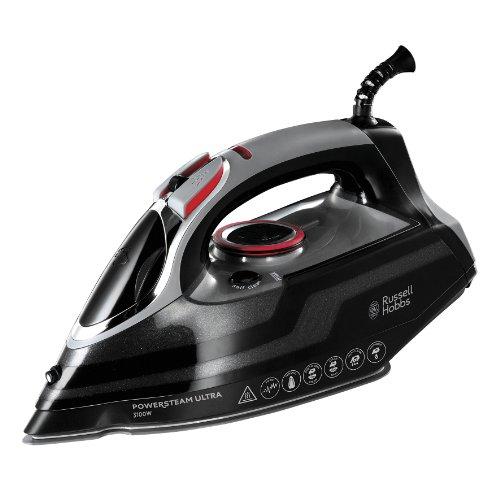 Russell Hobbs Powersteam Ultra 3100 W Vertical Steam Iron 20630 – Black and Grey